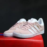 Sepatu Anak original Adidas Gazelle peach white