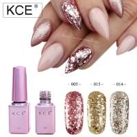 Nail Art KCE Kutek UV Gel / Gel Polish glitter