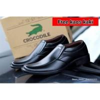 Sepatu Pantofel Pria Crocodile Formal Kerja Kantoran Terlaris