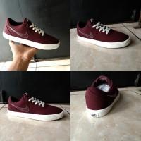sepatu Nike sb check maroon original