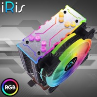 iRis FLO H120 ( 4 HEATPIPES RGB FAN WITH DIFFUSER ) - CPU COOLER