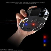 Free Wolf Mouse Wireless Gaming Led Light 1800 Dpi - X8