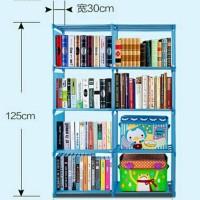 siap kirim rak buku besar tempat penyimpanan buku majalah buku