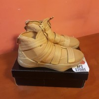 Sepatu Basket Nike Lebron James Soldier 11 Wheat Premium Original BNIB