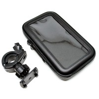 Universal Bike Mount with Waterproof Case for Smartphone 5.5-6 Inch -