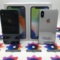 Iphone X (TEN) 64gb second ex inter fullset mulus - Grey Mulus