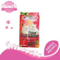 PASIR Kucing gumpal wangi CUB N KIT atau TATAPET 20 kg khusus grab