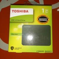 hdd ext / hd external / harddisk external toshiba 1 tb canvio basic