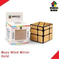 Rubik Wind Mirror Moyu Gold Rubik Murah
