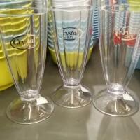 Gelas Crystal plastic
