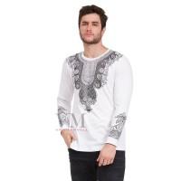 VM Baju Koko Putih Jumbo Kaos Panjang
