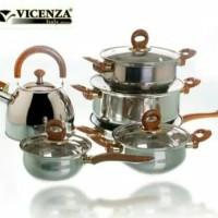Vicenza panci set perabotan rumah tangga