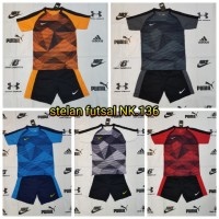 Baju Kaos Olahraga Jersey Bola Setelan Futsal NIKE NK.136