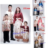 272 couple batik keluarga dws M-XL,anak 2-5 th,sarimbit baju muslim