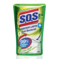 SOS Pembersih Lantai Apple Wonder 800 ml / SOS Apel Hijau 800ml