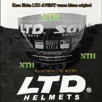 Kaca Helm LTD AVENT warna Hitam original