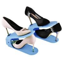 Adjustable shoes organizer Rak Sepatu Mini Portable Dekorasi Rumah
