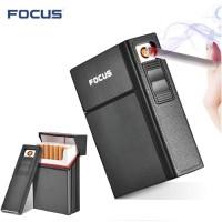 Kotak Rokok 20 Batang dengan Korek Elektrik