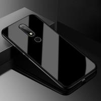 Case Nokia 61 Plus ( X6 ) Luxury Tempe Glass Premium Case