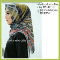DEENAY hijab segi empat voal Bueno