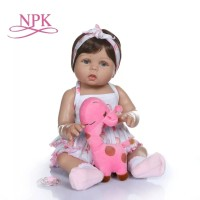 Boneka Reborn Tan Skin / Boneka Bayi / Boneka Toddler / Boneka NPK