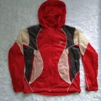 Crack Jack Jaket Gunung / Jaket Outdoor Merah - Windproof, Quickdry