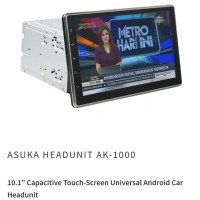 android head unit double din asuka AK 1000 mobil innova reborn