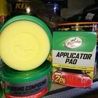Turtle Wax Applicator Pad Sponge Spons Busa Poles Polish Wax Compound