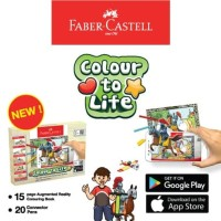 Faber Castell Colour To Life Game Color Connector Pens Colouring Book