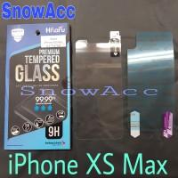 Hikaru Anti Gores Tempered Glass iPhone XS MAX free screen belakang