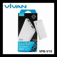 POWER BANK VIVAN VPB-V10 10000mAh ORIGINAL / POWERBANK V10 10000 mAh