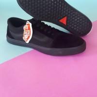 Sepatu Sneakers Vans Old Skool Full Black Premium