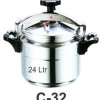 GETRA C-32 Commercial Pressure Cooker ( Panci Presto Komercial )