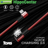 Hippo TOMS Kabel Data Micro Android Kabel charger Gamer Quick Charging