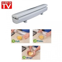 Wraptastic - Food Plastic Wrapping Dispenser - As Seen On TV w1352