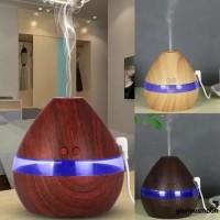 Humidifier Diffuser Aromaterapi Ultrasonik Tenaga USB dengan Lamp