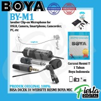 BOYA BY-M1 Clip-on Microphone for Camera Smartphone Camcorder PC
