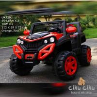 mobil mainan aki Jeep spider Unikid UK 720 / mobil aki mainan anak