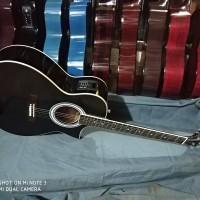gitar cort akustik elektrik tuner