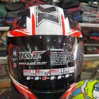 Helm Motor Kyt R10 Motif 2