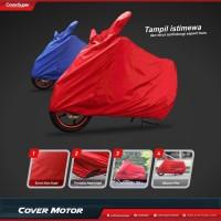 Sarung Motor Made In Cover Super - Merah