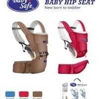 Gendingan Bayi Hipseat Baby Safe BC006 Hip Seat New Born To Toddler -
