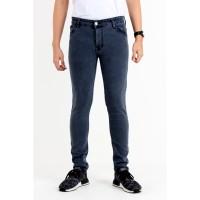 JSK OFFICIAL STORE Celana Skinny Jeans stretch Slim Fit 9600Abuabu
