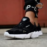 Adidas Falcon Black White Men