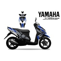 DECAL STRIPING MOTOR YAMAHA XEON CIRCLE EDITIONS