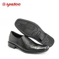 Jual Sepatu Pantofel Kulit - Fantofel Kerja Formal Pria Garansi Asli - Hitam, 39