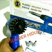 Alat Las Plastik 700 watt PVC PP PE Plastic Welding Gun 700W Heat Gun