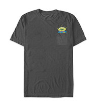 toy story alien pocket tshirt for men
