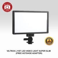 VILTROX L116B LED VIDEO LIGHT SUPER SLIM (FREE HOTSHOE)