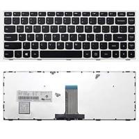 Keyboard LENOVO IdeaPad 300-14IBR 300-14ISK - silver